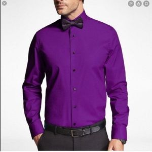 Express 1MX modern fit purple size M